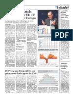 La OCDE constata la recuperación de EE UU  y la debilidad de Europa