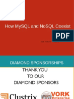 PerconaLiveNYC2011 How MySQL and NoSQL Coexist