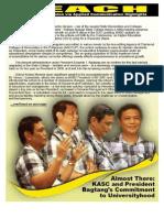 BAGTANG's Bid for Universityhood by M. Paroy Jr.