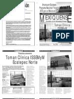 Versión impresa del periódico El mexiquense 18 diciembre 2013