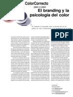 El Branding y La Psicoligia Del Color