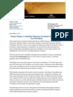 ML Strategies Update Energy Tax Reform