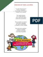 DERECHOS DE TODOS LOS NIÑOS - poesia