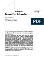 Fuel Conservation and Fuel Reserve Optimization