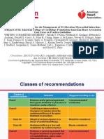 Guideline STEMI AHA 2013