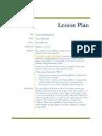 edmt project 3 lesson plan