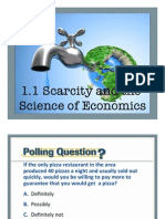 1 1 scarcity and the science of economics