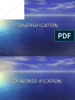 Diversification ( Business Policy )