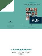 UN OHCHR Annual Rep 2003 E