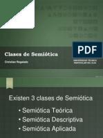 Clases de Semiotica