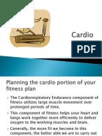 Cardio Lesson