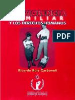 La Violencia Familiar y Los Derechos Humanos