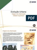 Evolução urbana parte 1