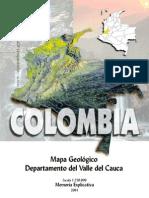 GeologÃ-a del Valle del cauca