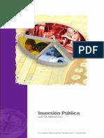 Inversion Publica SENPLADES