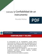 Validez y Confiabilidad de Un Instrumento