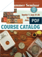 2014 ANA Summer Seminar Course Catalog