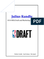 Julius Randle 2014 NBA Draft and Marketing