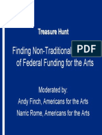 Funding for Arts
