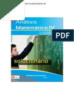 Solucionario Analisis Matematico IV