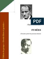 Charles Baudelaire - Fusées(1ere partie des journaux intimes)
