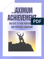 Brian Tracy - Maximum Achievement Workbook