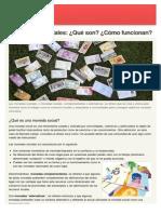 monedas alternativas en españa