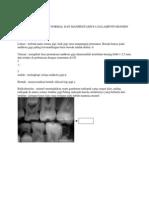 Gambran Normal Radiografi