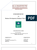 RELIANCE COMMUNICATIONS - VIDEO CONFERENCING