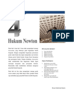 Bab 04 Hukum Gerak Newton