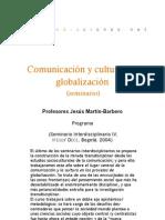 Seminario - Comunicación y culturas en globalización