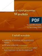 Wavelets for bio signal lprocessing