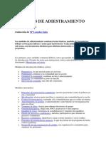 0.1 MÓDULOS DE ADIESTRAMIENTO