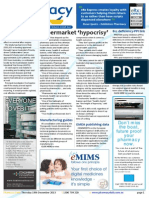 Pharmacy Daily for Thu 19 Dec 2013 - Supermarket \'hypocrisy\', ASMI - Multivitamins OK, Aspirin cancer study, Travel Specials and much more