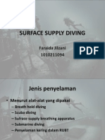 Surface Supply Diving