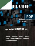 Powerpoint Mikrotik
