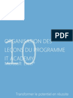 French - Microsoft Excel 2010 Lesson Plan