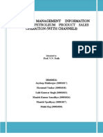 Management Information System in Petrol Sales and Operations Company