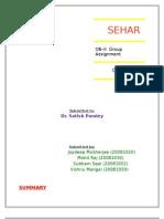 Sehar- Group Dynamics