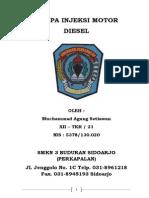 Pompa Injeksi Motor Diesel