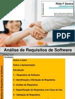 Analise de Requisitos Software