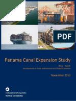 Panama Canal Phase I Report - 20Nov2013