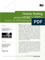 Modular building by LEED