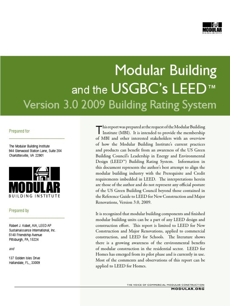 Modular building by leed leadership in energy and environmental modular building by leed leadership in energy and environmental design green building xflitez Gallery