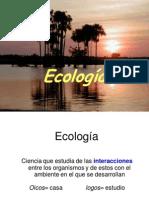 Unidad Ocho. Ecologia