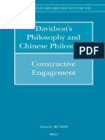 Bo Mou Davidsons (2006) Philosophy and Chinese Philosophy Constructive Engagement Philosophy of History and Culture 376 P