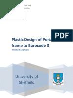 Plastic Design Portal Frame to Ec3