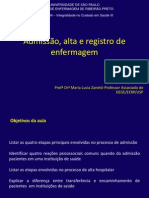 Exemplos de Registro de Enfermagem