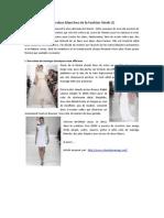 Les Robes Blanches de La Fashion Week (I)
