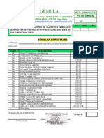 VENTA DE SEMILLAS, PLANTONES FORESTALES Y ACCESORIOS DE CONSTRUCCION
